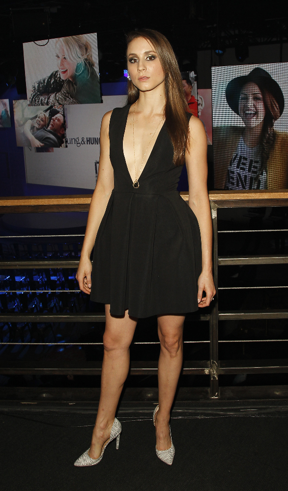 Troian Bellisario - ABC Family Upfront Presentation in NY