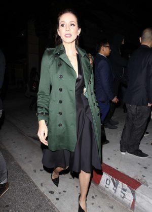 Troian Bellisario - Arrives for the Vanity Fair Party in LA