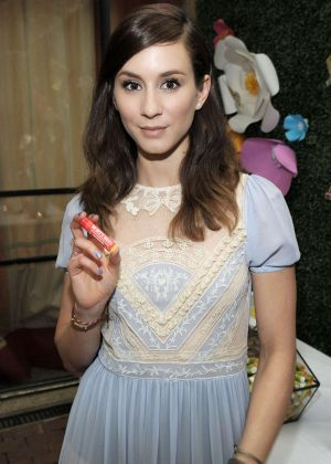 Troian Bellisario - Burt's Bees' 2017 Bring Back the Bees Campaign Launch in NY