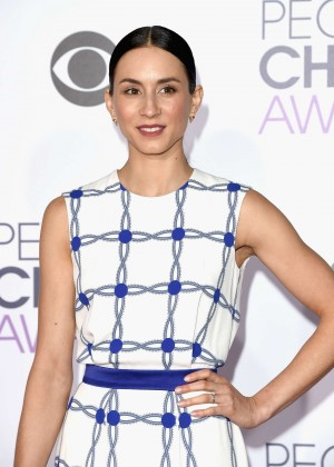 Troian Bellisario - People's Choice Awards 2016 in Los Angeles