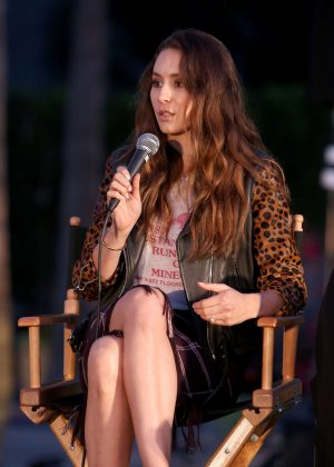 Troian Bellisario - 'Pretty Little Liars' Season 7 Panel in Los Angeles