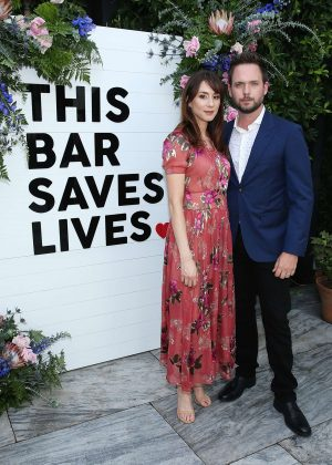Troian Bellisario - This Bar Saves Lives Press Launch Party in West Hollywood