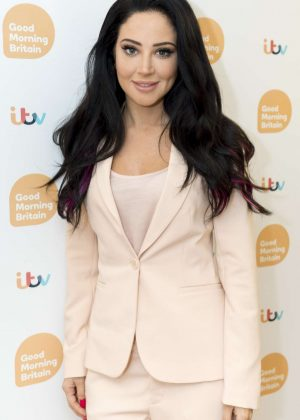 Tulisa Contostavlos at 'Good Morning Britain' TV show in London