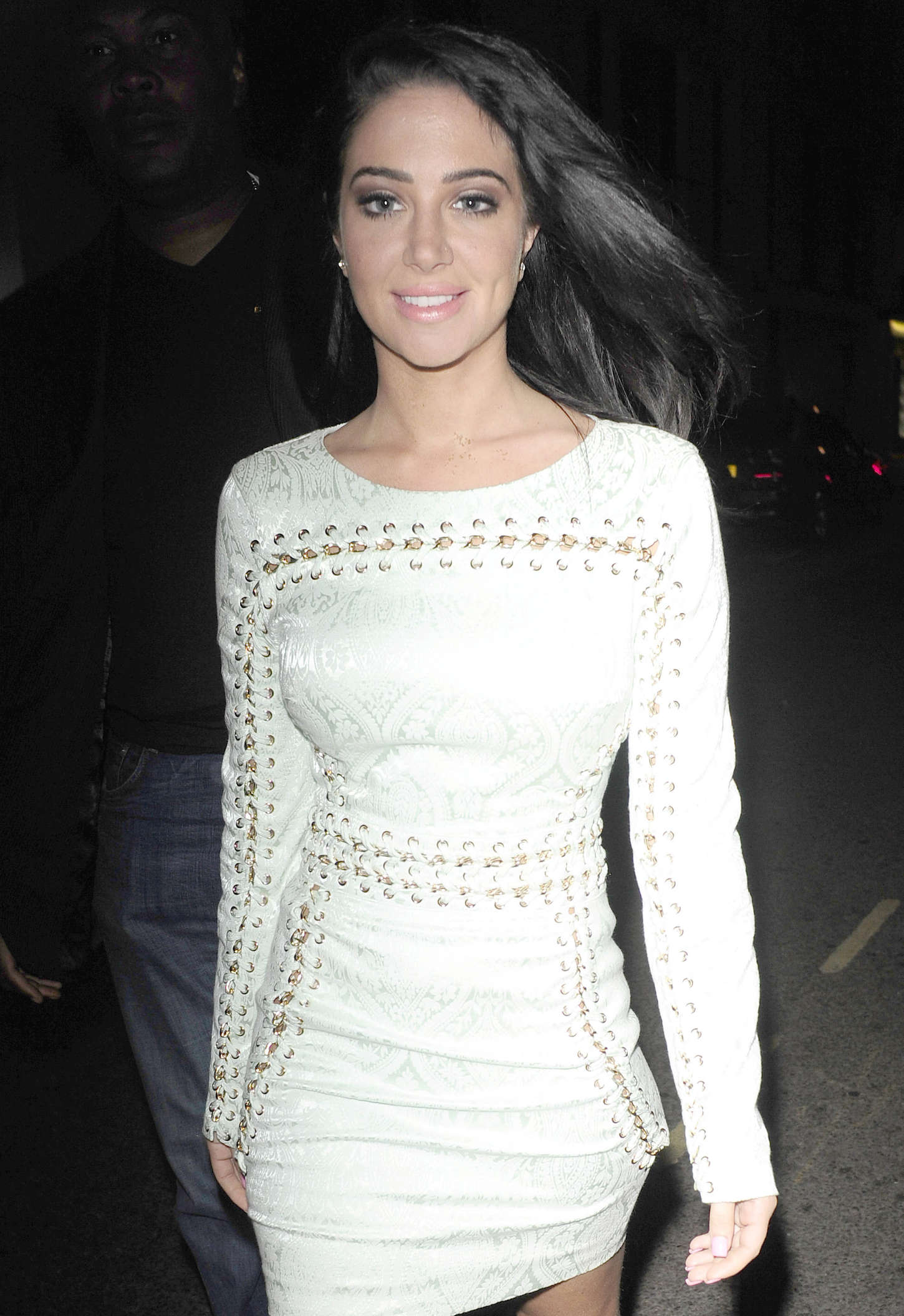 Tulisa Contostavlos 2015 : Tulisa Contostavlos in Tight Mini Dress -02