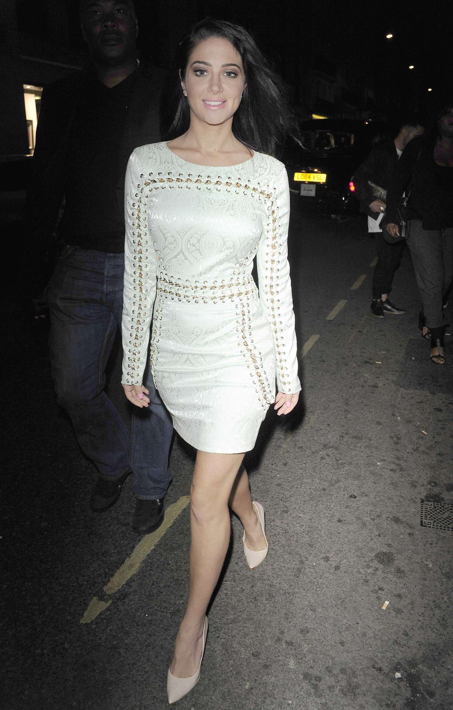 Tulisa Contostavlos 2015 : Tulisa Contostavlos in Tight Mini Dress -05