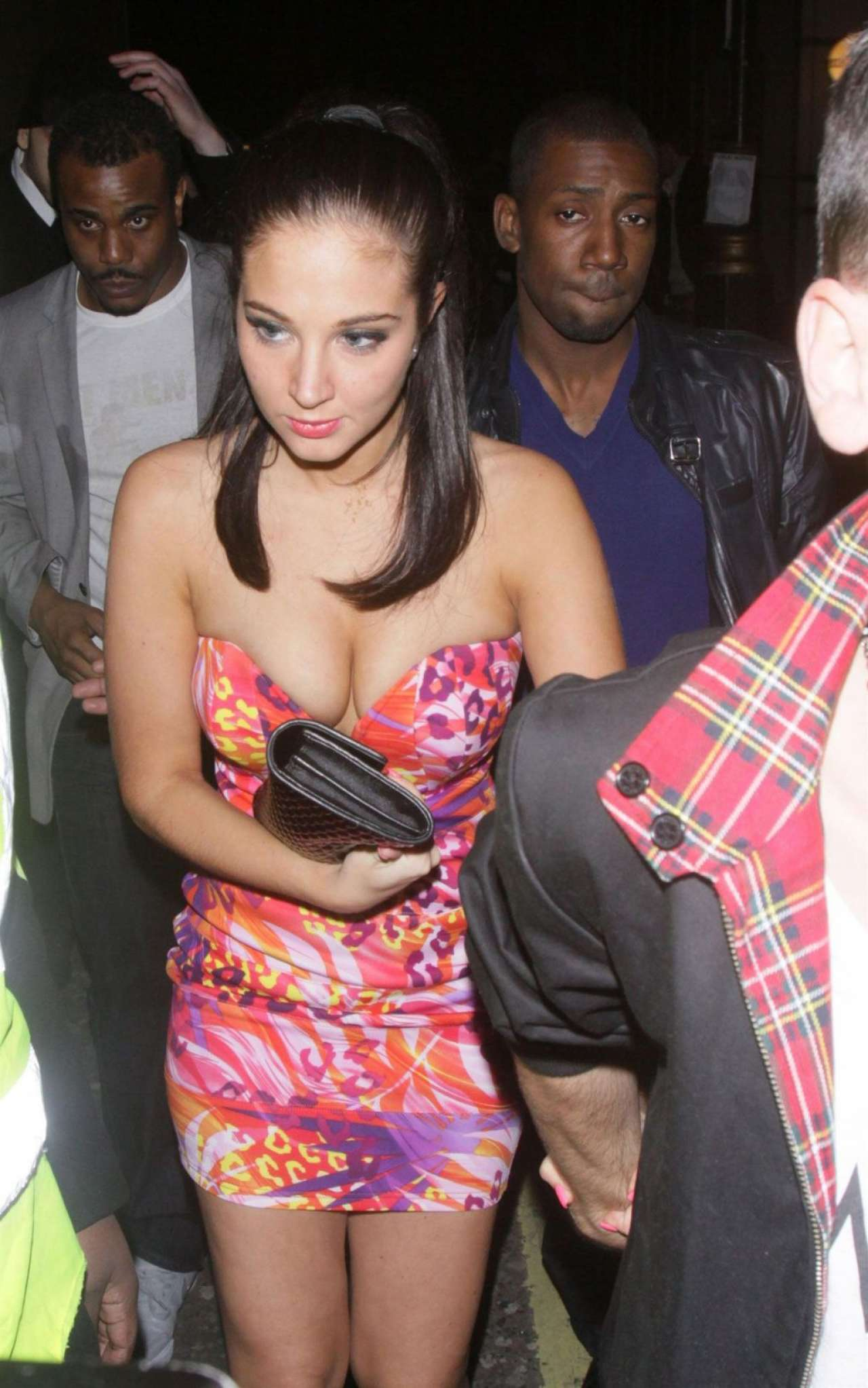 Tulisa Contostavlos 2020 : Tulisa Contostavlos – Leaves The Project Club in London-06