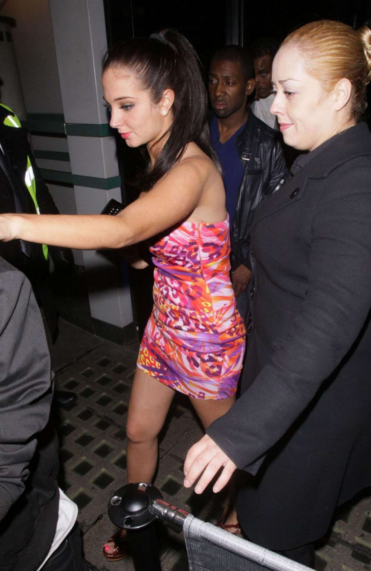 Tulisa Contostavlos 2020 : Tulisa Contostavlos – Leaves The Project Club in London-07
