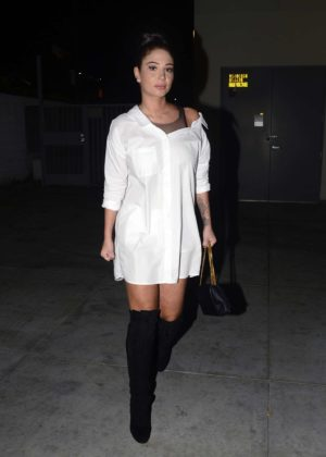 Tulisa Contostavlos night out in Los Angeles