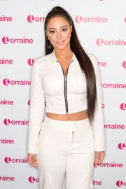 Tulisa Contostavlos - On Lorraine TV Show in London