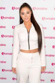 Tulisa Contostavlos - On Lorraine TV Show in London
