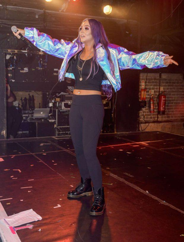 Tulisa Contostavlos - Performing at G-A-Y in London