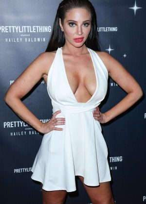 Tulisa Contostavlos - PrettyLittleThing x Hailey Baldwin Launch Event in LA