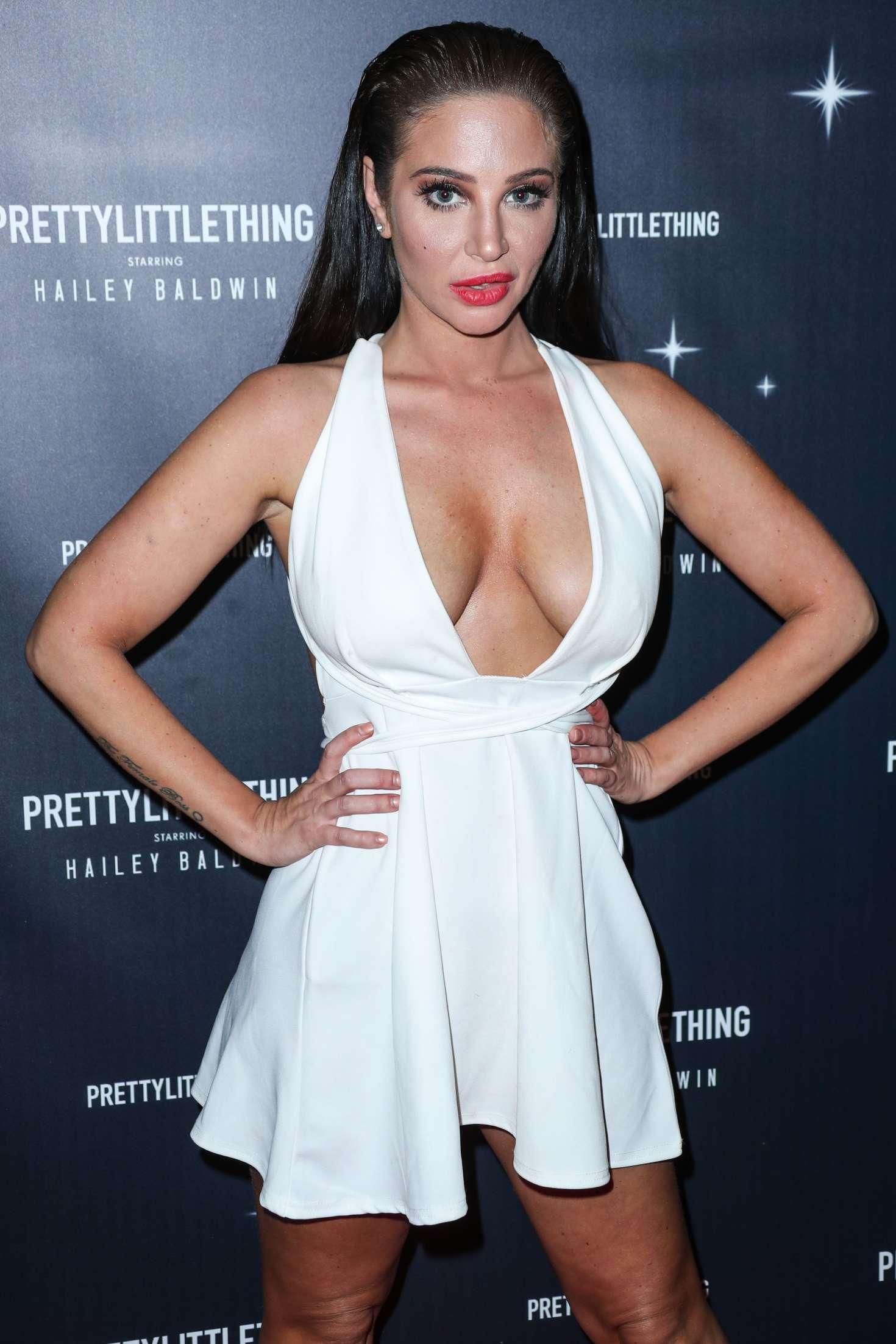Tulisa Contostavlos - PrettyLittleThing x Hailey Baldwin Launch Event in LA