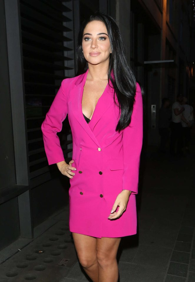 Tulisa Contostavlos - The Cuckoo Club for Notion Magazine's Launch Party in London