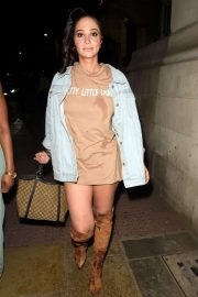 Tulisa Contostavlos - Vanitas Bar and Restaurant in Manchester