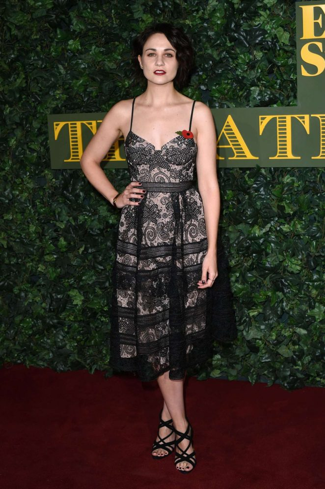 Tuppence Middleton - Evening Standard Theatre Awards 2016 in London