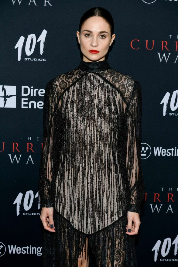 Tuppence Middleton - 'The Current War' Premiere in New York