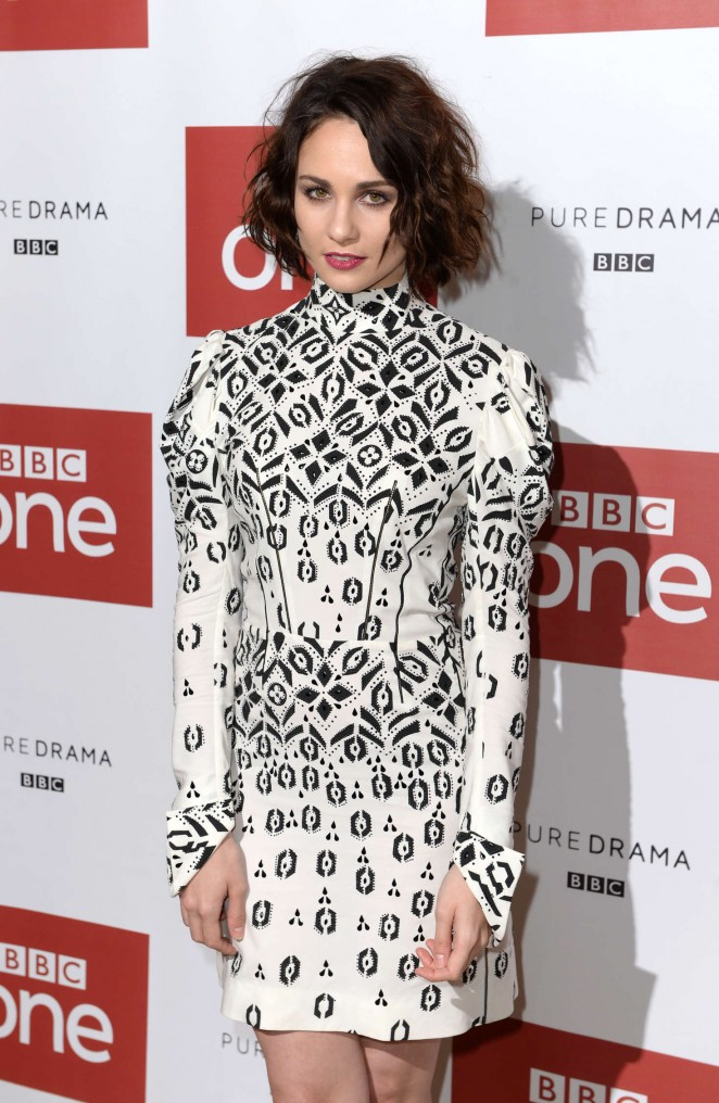Tuppence Middleton - 'War and Peace' Premiere in London
