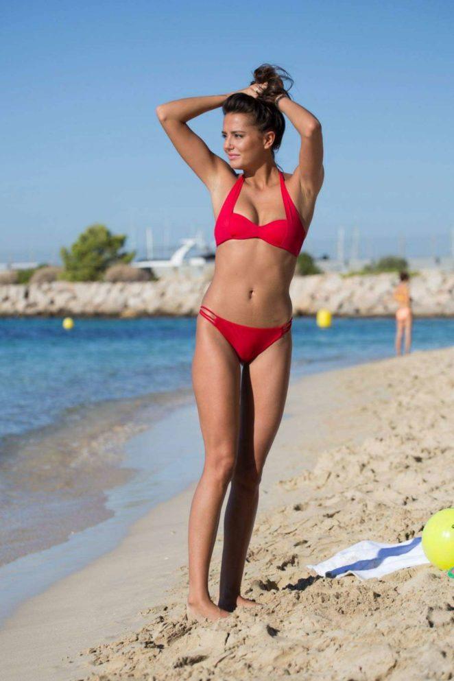 Tyla Carr - Bikini at the beach in Mallorca