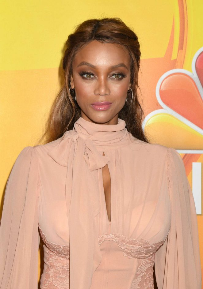 Tyra Banks – 2017 NBC Summer TCA Press Tour in Beverly Hills