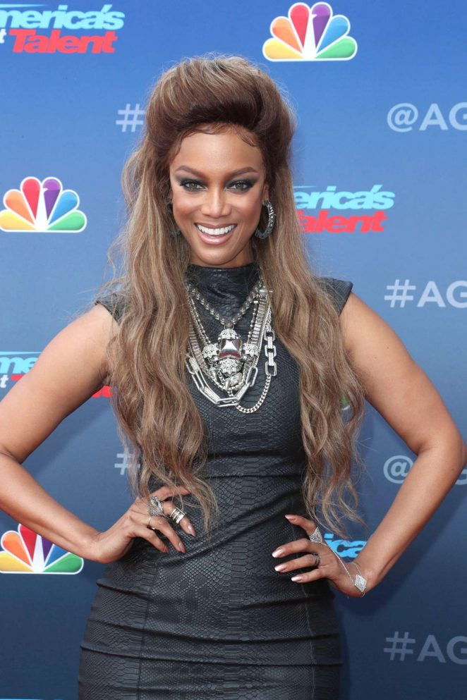 Tyra Banks: 2018 Americas Got Talent Event -09 | GotCeleb