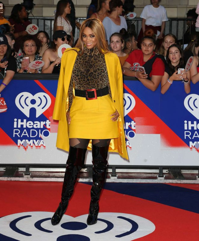 Tyra Banks - 2018 iHeartRadio Much Music Video Awards in Toronto
