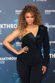Tyra Banks - 8th Annual Breakthrough Prize Ceremony in Mountain View