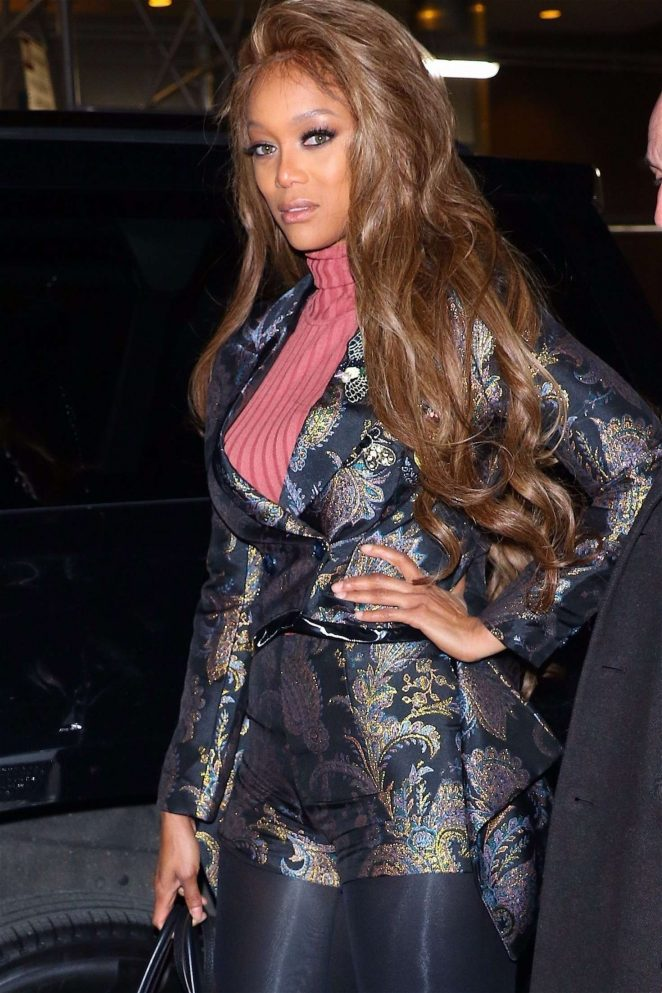 Tyra Banks at Watch What Happens Live! in New York