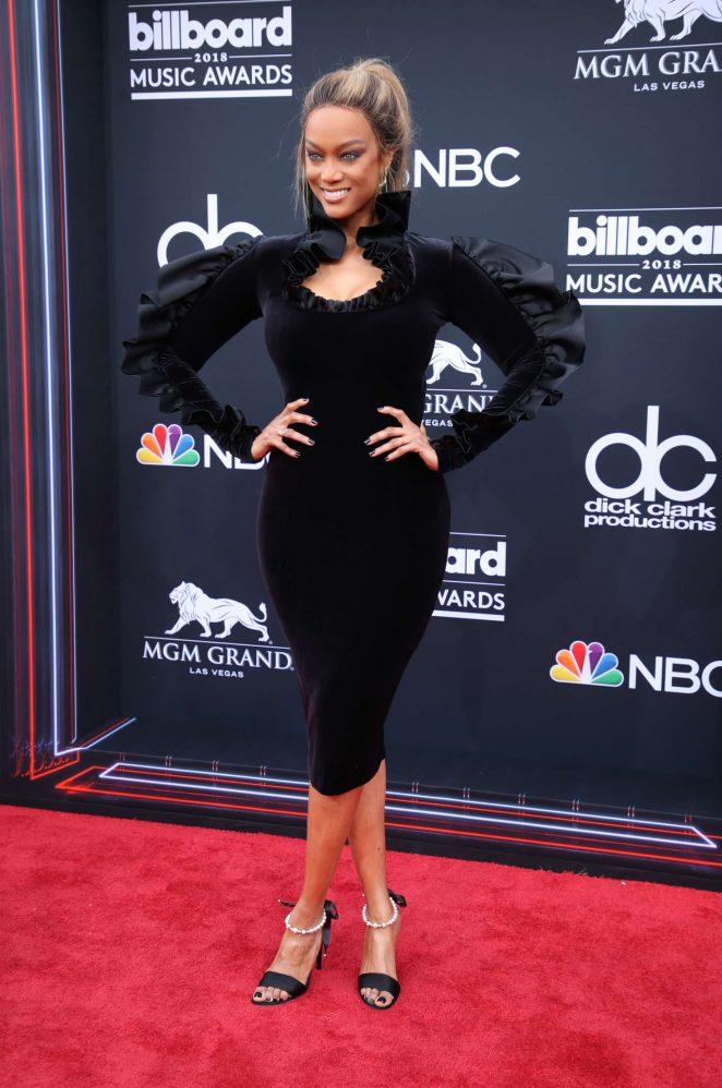 Tyra Banks - Billboard Music Awards 2018 in Las Vegas