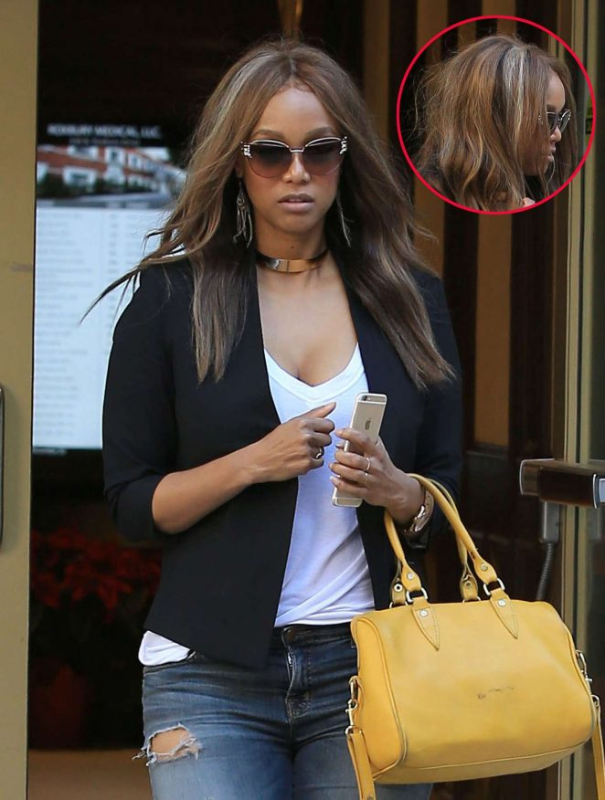 Tyra Banks – Leaves a doctors office in Beverly Hills