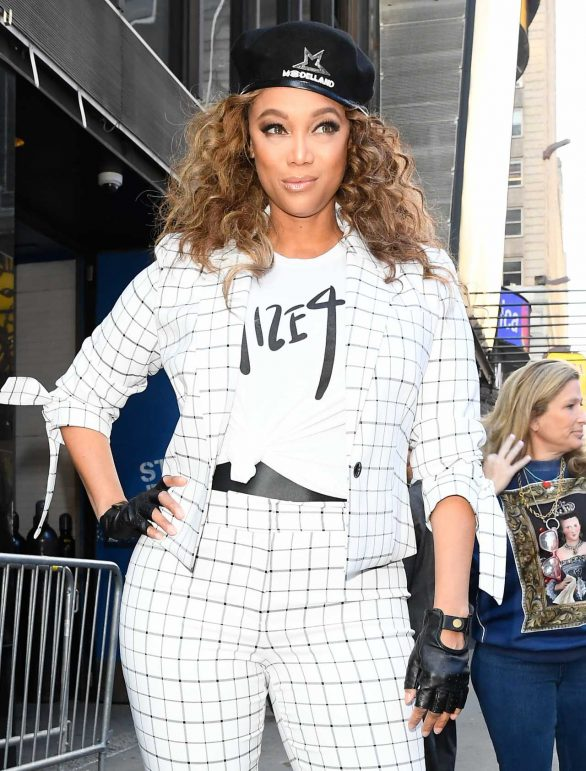 Tyra Banks - Pictured at Good Morning America