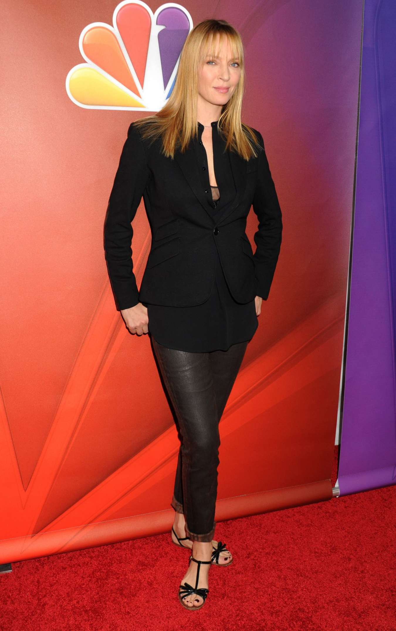Uma Thurman: 2015 NBCUniversal Press Tour Day 2 -02 - GotCeleb