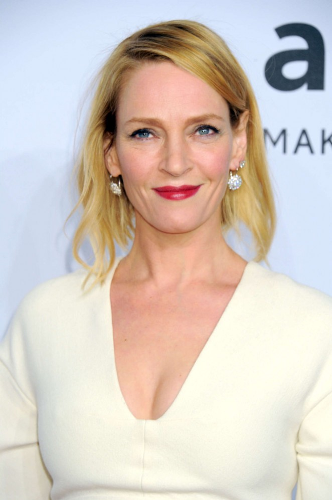 Uma Thurman: 2016 amfAR New York Gala -10 - GotCeleb