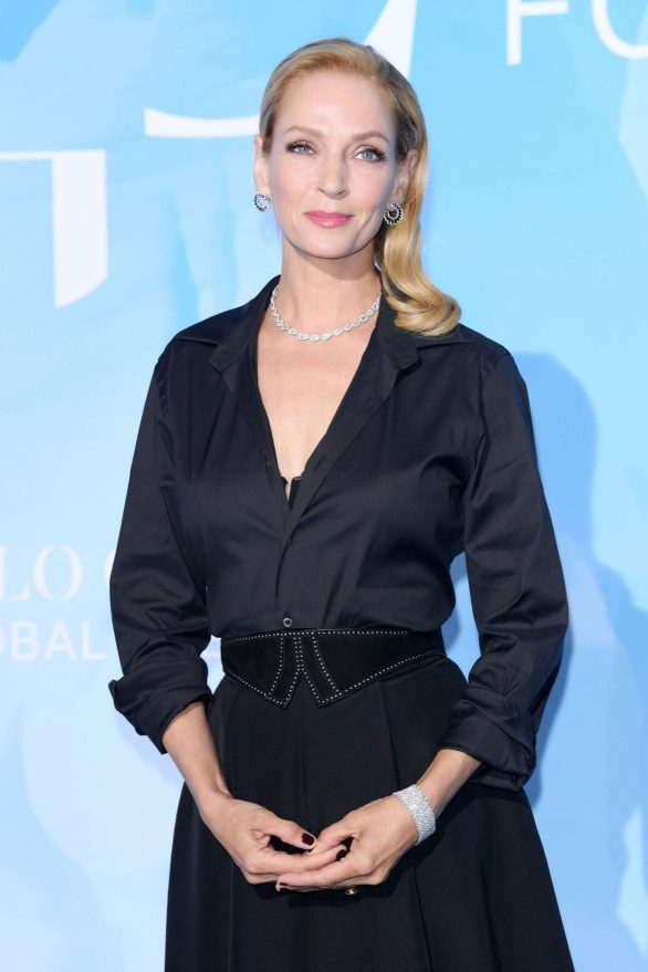 Uma Thurman - 2019 Gala for the Global Ocean in Monte-Carlo