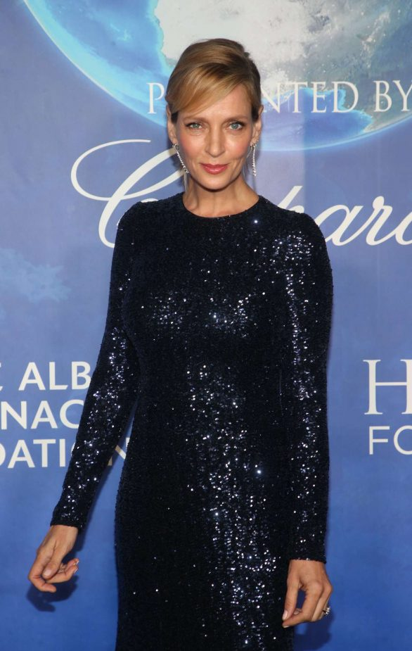 Uma Thurman - 2020 Hollywood for the Global Ocean Gala in Beverly Hills