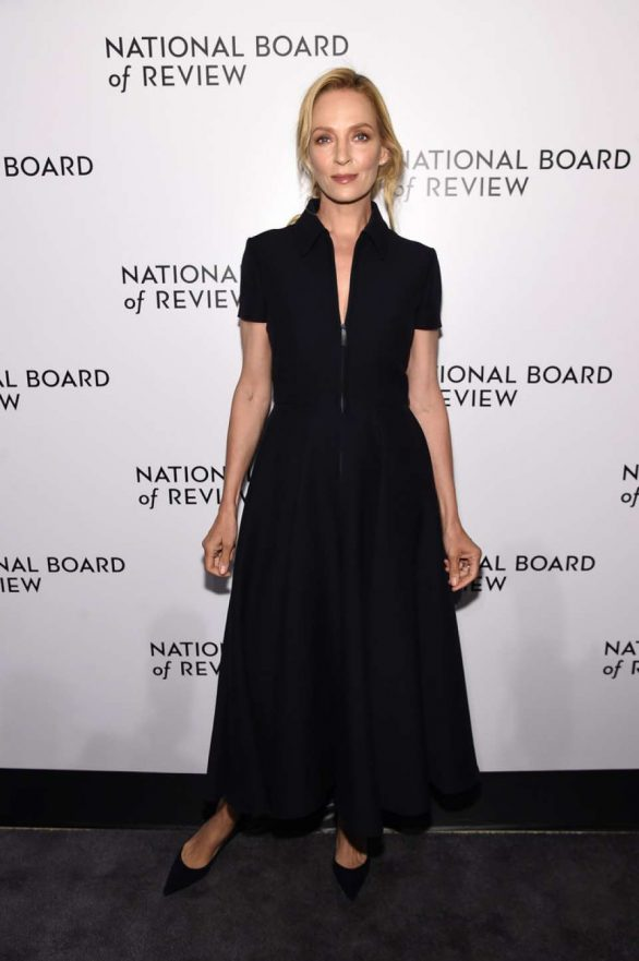 Uma Thurman - 2020 National Board Of Review Gala in NYC