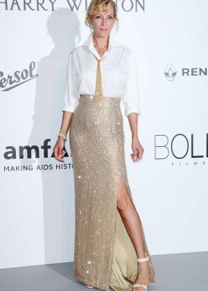 Uma Thurman - amfAR's 24th Cinema Against AIDS Gala in Cannes