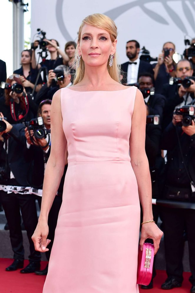 Uma Thurman - Anniversary Soiree at 70th Cannes Film Festival