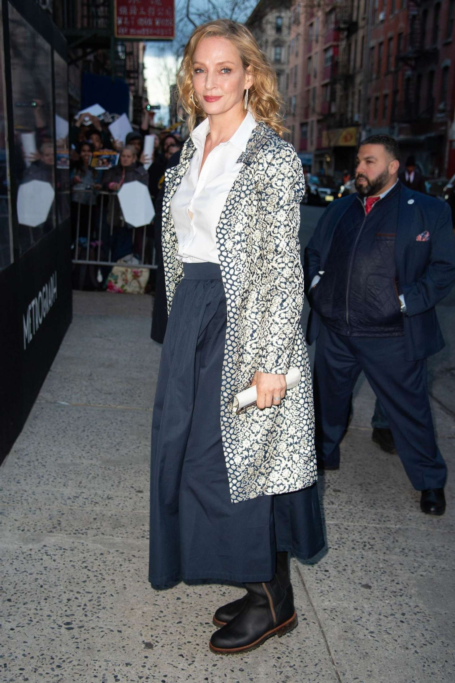 Uma Thurman 2019 : Uma Thurman: Arrives at the Chambers Premiere -01