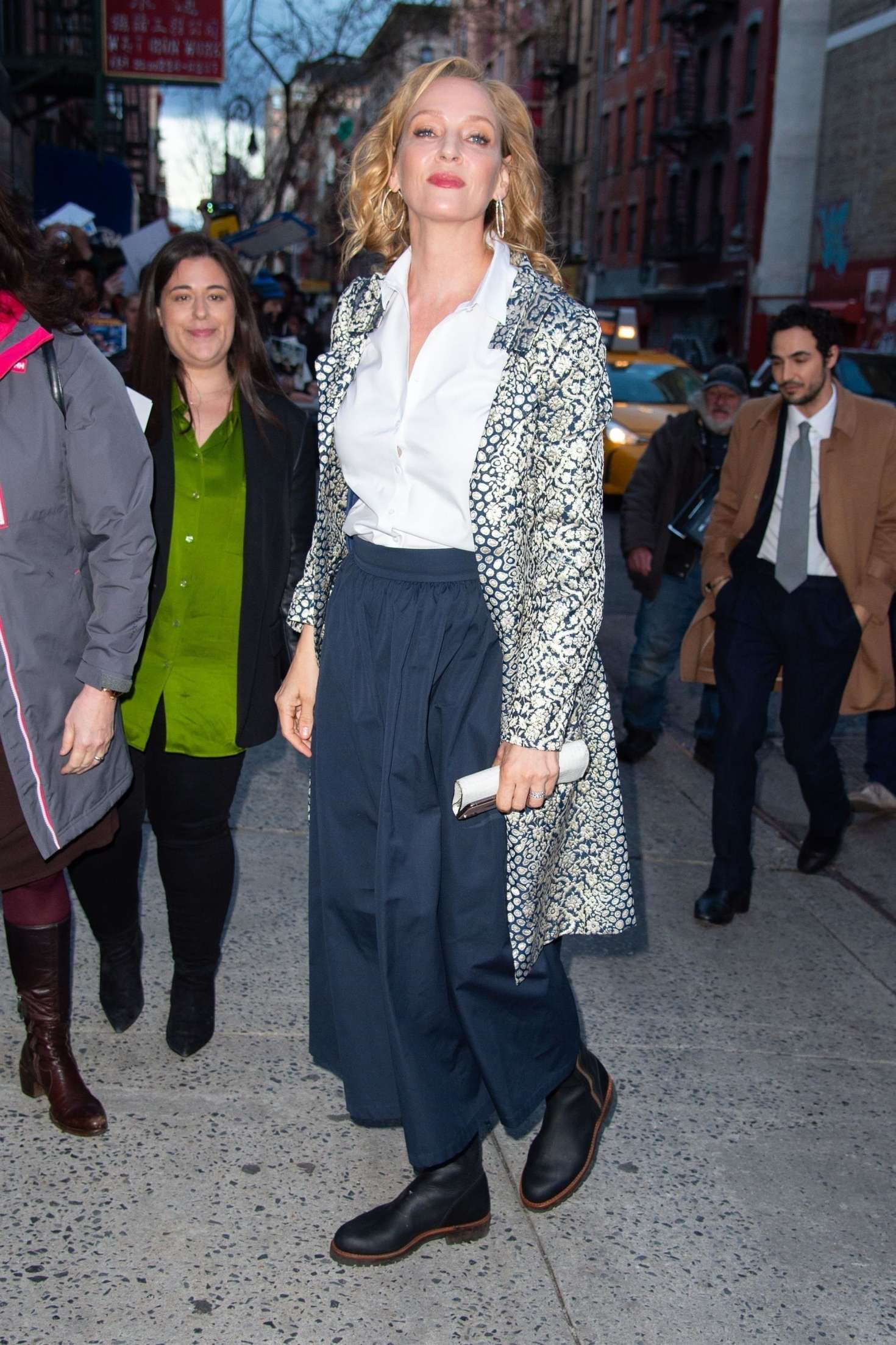 Uma Thurman 2019 : Uma Thurman: Arrives at the Chambers Premiere -05