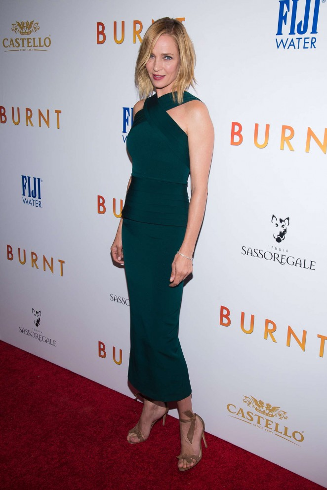 Uma Thurman - 'Burnt' Premiere in New York City