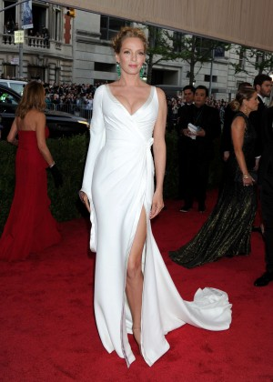 Uma Thurman - 2015 Costume Institute Gala in NYC