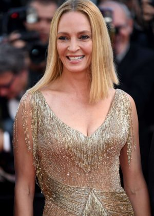 Uma Thurman - Closing Ceremony of the 70th annual Cannes Film Festival in Cannes