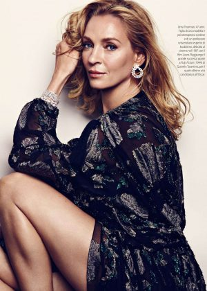 Uma Thurman - F Magazine (February 2018)