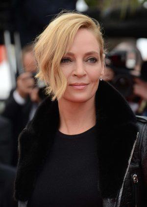 Uma Thurman - 'Loveless' Premiere at 70th Cannes Film Festival  Uma Thurman