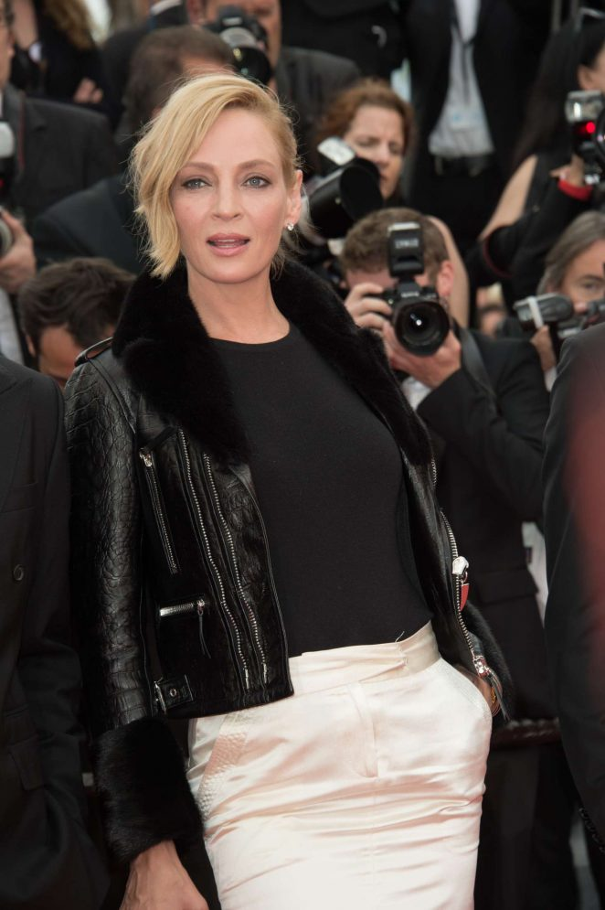 Uma Thurman - 'Loveless' Premiere at 70th Cannes Film Festival