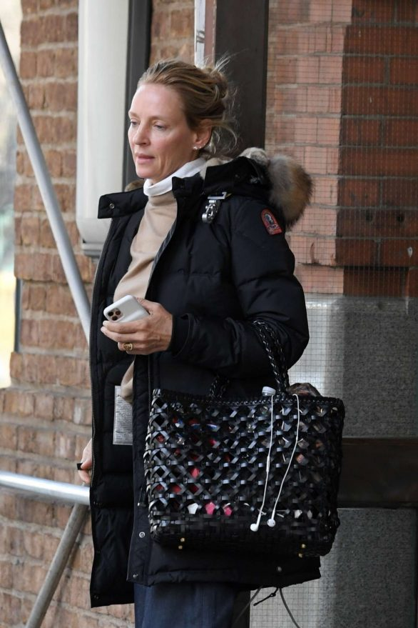 Uma Thurman - Out in Tribeca