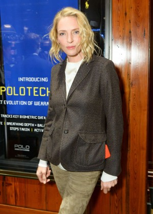 Uma Thurman - Polo Ralph Lauren Event with Athlete Ally in NYC