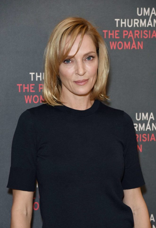 Uma Thurman - 'The Parisian Woman' Broadway Photocall in New York