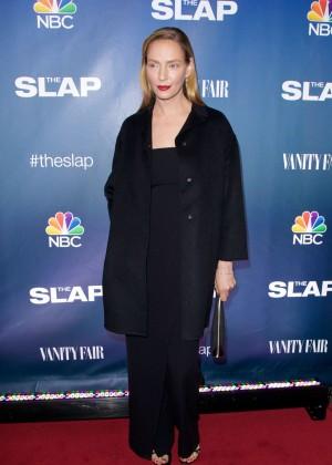 "Uma Thurman - ""The Slap"" Premiere in New York"
